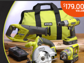 Family Handyman Ryobi Super Combo Tool Set Sweepstakes