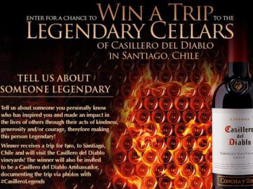 "Casillero del Diablo ""Legend"" Program Contest"