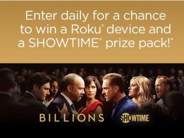 ROKU Billions Premiere Sweepstakes