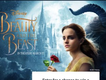 HomeAway Disney's Beauty and the Beast Sweepstakes