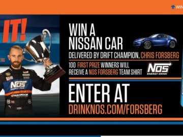 Car Giveaway 2017 >> Nos Energy Drink Car Giveaway Sweepstakes