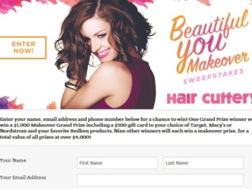 Hair Cuttery Beautiful You Makeover