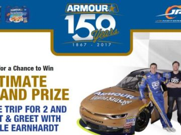 Armour 150th Anniversary Sweepstakes