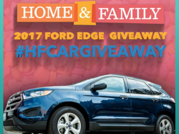 Home & Family Ford Edge Contest