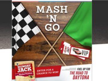 Hungry Jack Potatoes Mash N' Go Promotion