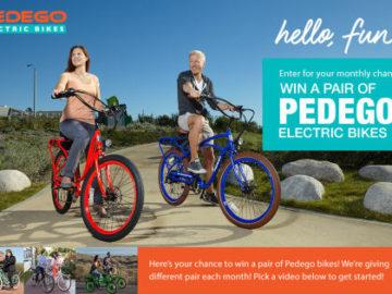 Pedego Electric Bikes Sweepstakes