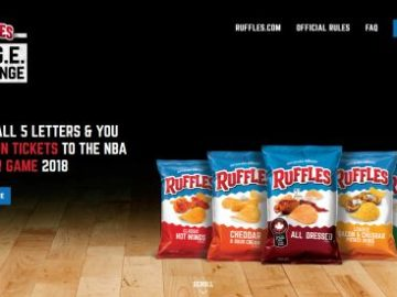 Ruffles Ridge Challenge Sweepstakes and Instant Win Game
