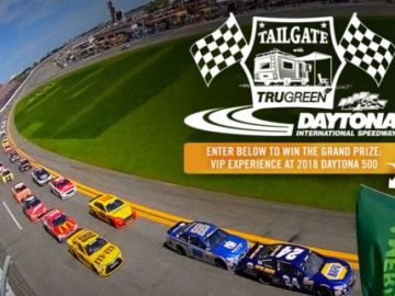 Tailgate with TruGreen at Daytona International Speedway Sweepstakes