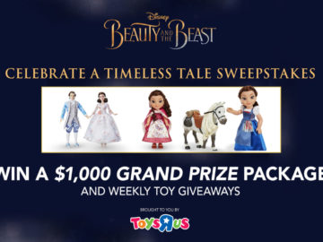 Celebrate A Timeless Tale By Entering Our Sweepstakes