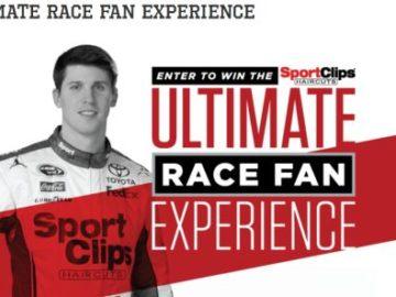 "Sport Clips ""Ultimate Race Fan Experience – Fontana"" Sweepstakes"