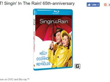 WIN IT! Singin' In The Rain! 65th-anniversary  Sweepstakes