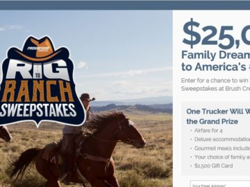 Trucker Territory Rig to Ranch Sweepstakes