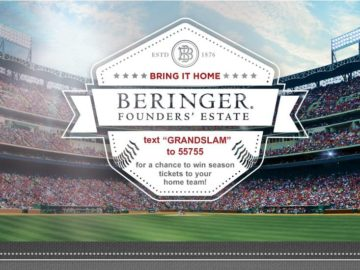 Beringer Bring It Home Sweepstakes