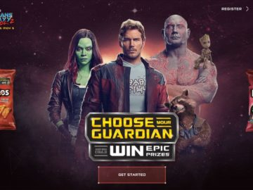 "DORITOS ""Guardians of the Galaxy Vol. 2"" Sweepstakes (Code)"