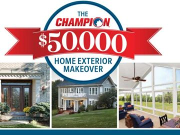 Champion Home Exteriors $50,000 Giveaway Sweepstakes