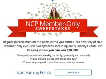Win $20,000 for Grocery Shopping from NCP!