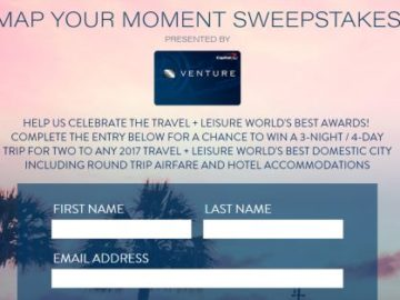 Worksheet. Leisure Map Your Moment Sweepstakes