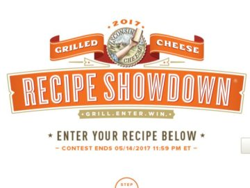 Grilled Cheese Academy Recipe Showdown Sweepstakes