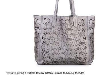 EXTRA Pattern Tote by Tiffany Lerman Sweepstakes