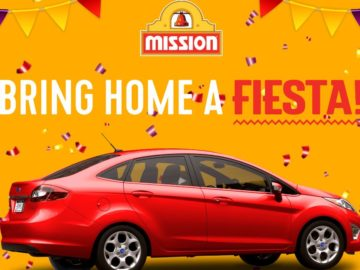 Mission Bring Home a Fiesta Sweepstakes
