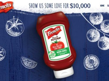 French's Show Us Some Love for $10,000 Sweepstakes