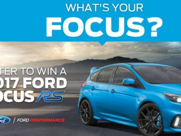Ford's What's Your Focus? Sweepstakes