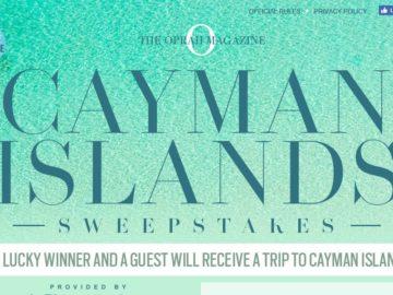 Oprah Magazine Cayman Islands Sweepstakes