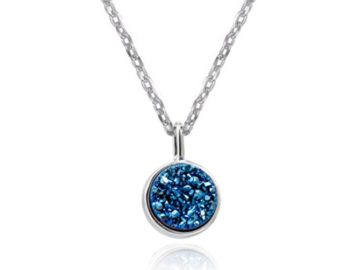 Win a Sterling Silver Blue Crystal Necklace (Amazon Giveaway)