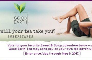 Where Will Your Tea Take You? Sweepstakes