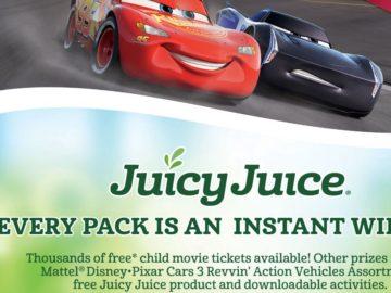 "Juicy Juice ""Race for Juicy Rewards"" Instant Win Game – Code Required"