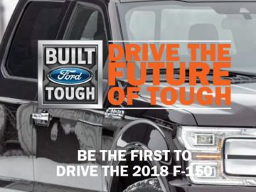 2018 F150: Drive the Future of Tough Sweepstakes