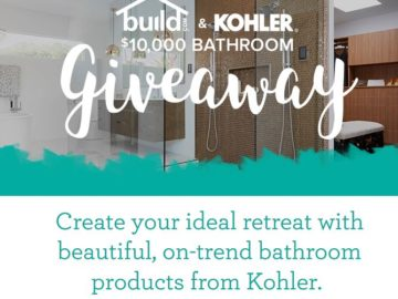 Build.com Kohler Dream Bath Giveaway Sweepstakes