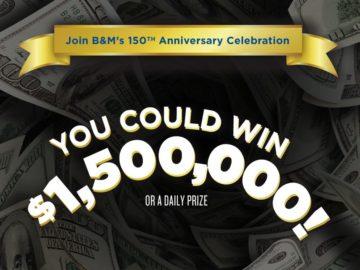 B&M Baked Beans Big Money Game Sweepstakes – Limited States