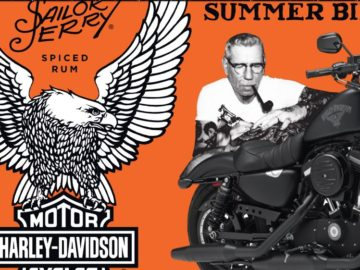 Sailor Jerry American Legends' Summer Bike Giveaway Sweepstakes