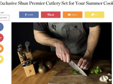 Kitchn Shun Cutlery Official Giveaway Sweepstakes