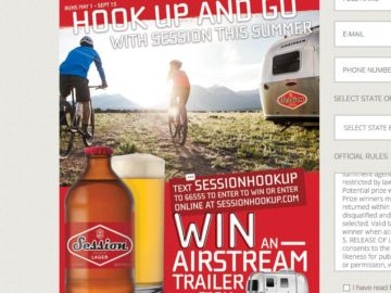 Full Sail Brewing's 'Session Hook Up' Text to Win Sweepstakes – Select States