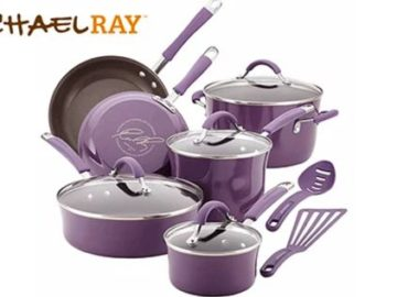 Win a Rachel Ray Cucina Hard Enamel Nonstick 12-Piece Cookware Set