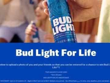 Bud Light for Life Sweepstakes