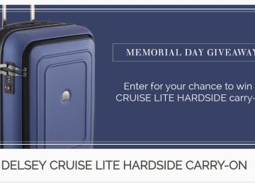 Delsey's Memorial Day Giveaway Sweepstakes