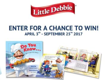 Little Debbie Muffin Man Book Giveaway Sweepstakes
