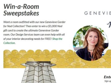 of Nod Win a Dream Room Featuring Genevieve Gorder for Nod Sweepstakes