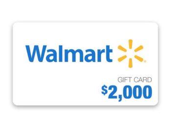 Walmart Gift Card Sweepstakes