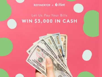 Refinery29 & Mint Sweepstakes