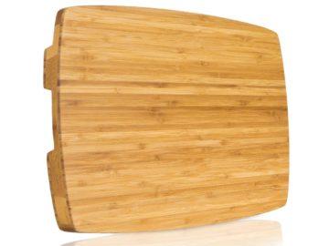 Win a Professional Bamboo Butcher Block
