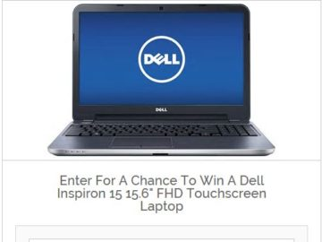 DealMaxx Dell Inspiron 15.6″ Touchscreen Laptop Giveaway Sweepstakes