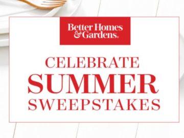 Better Homes Garden Celebrate Summer Sweepstakes