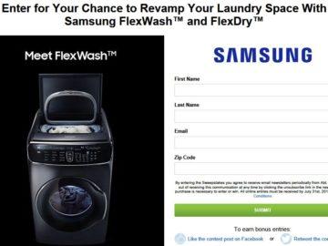 Abt Electronics Inc Samsung FlexWash And FlexDry Giveaway Contest - Abt samsung