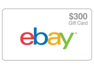 Ellen Ebay Gift Card Sweepstakes