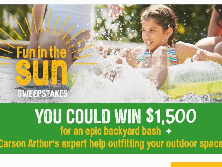 Better Homes And Gardens Real Estate Fun In The Sun Sweepstakes