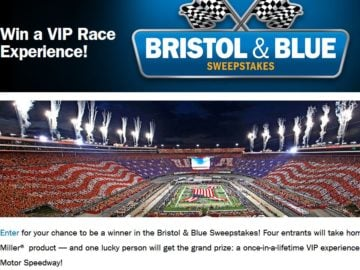 "Miller ""Bristol and Blue"" Consumer Sweepstakes"